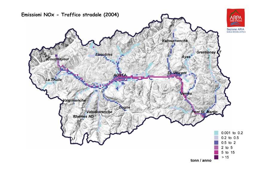 Cartina Della Valle D Aosta Da Stampare.Rivista Environnement